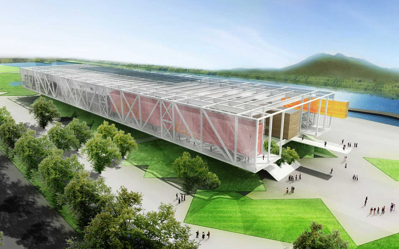 Plan maestro xochimilco y cieax arquine for Plan de arquitectura