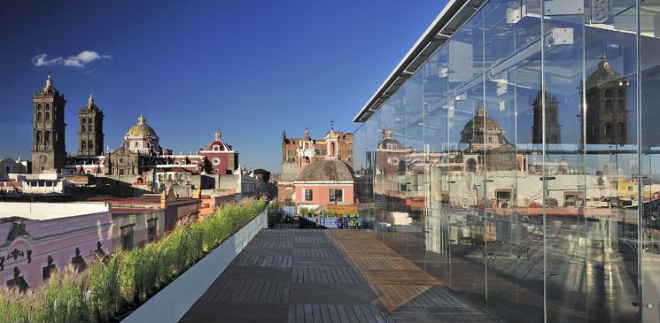 Museo Amparo Terraza