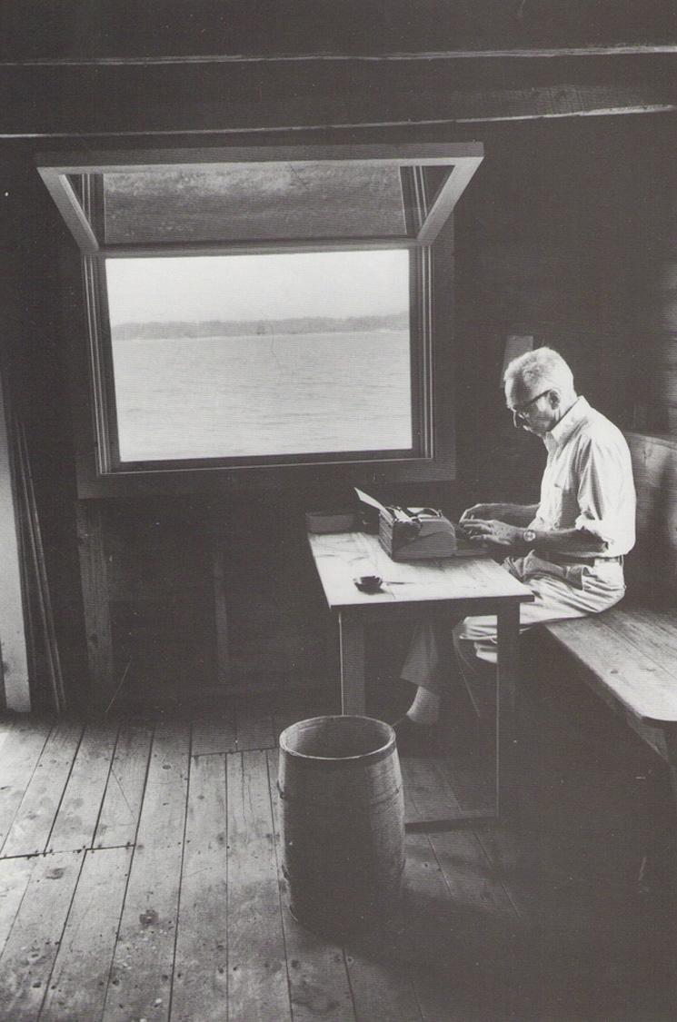 E.B. White, writer