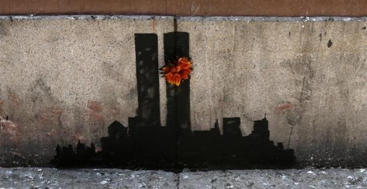 Banksy, crítico de arquitectura