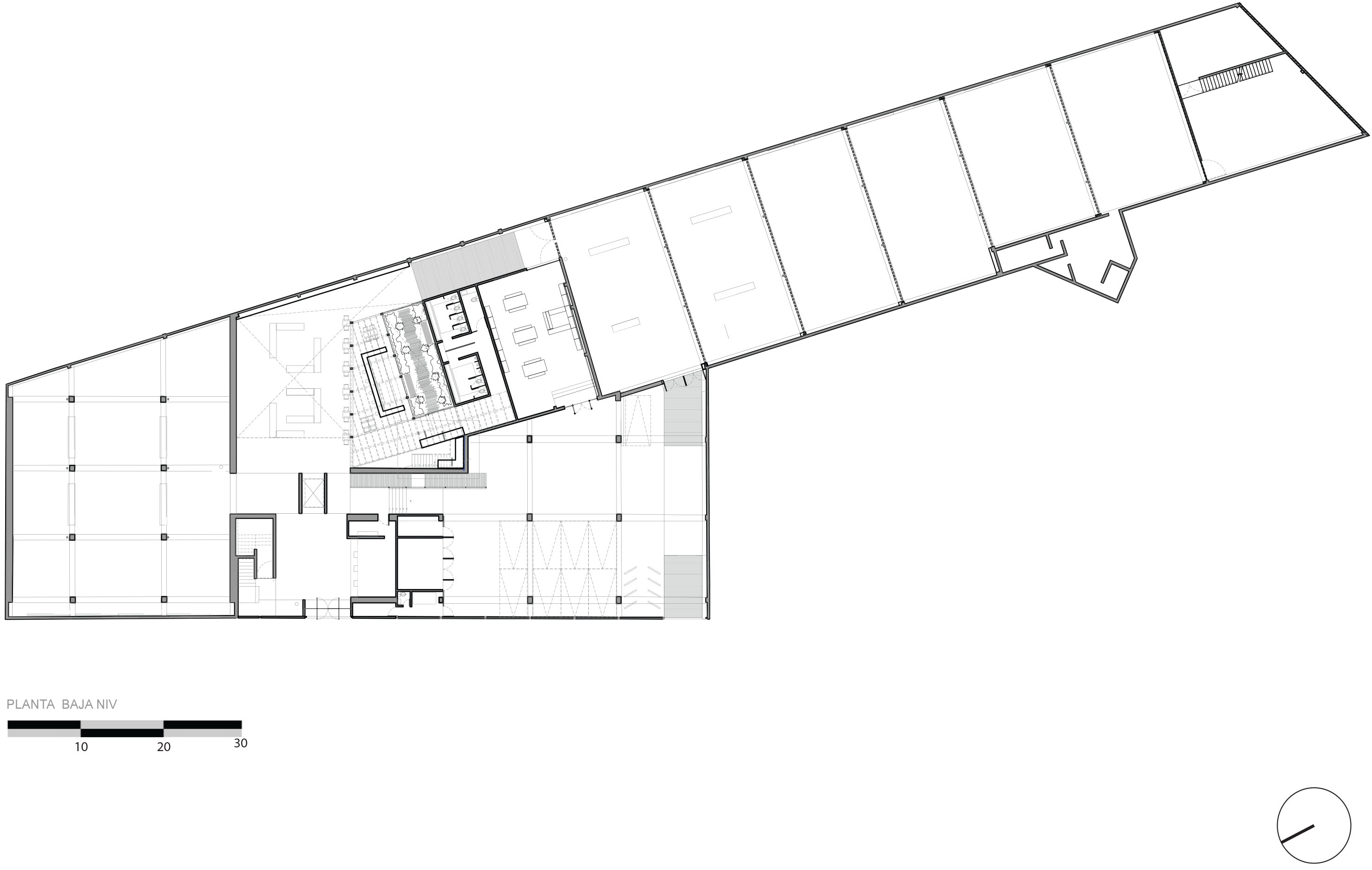 Fotomuseo cuatro caminos arquine for Ejes arquitectonicos