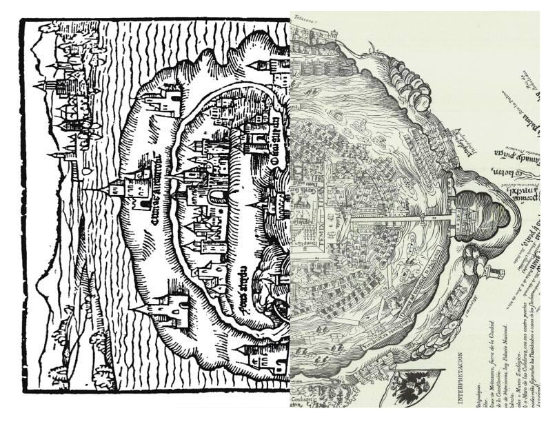 Comentario sobre dos mapas | Arquine