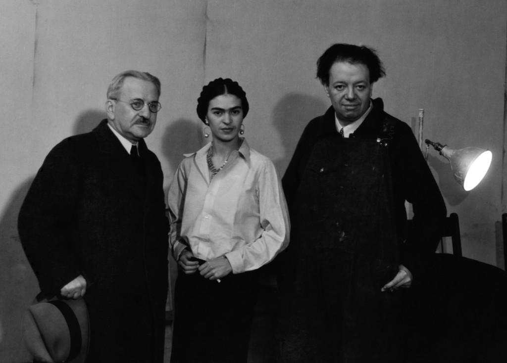 Albert Kahn, Frida Kahlo, Diego Rivera