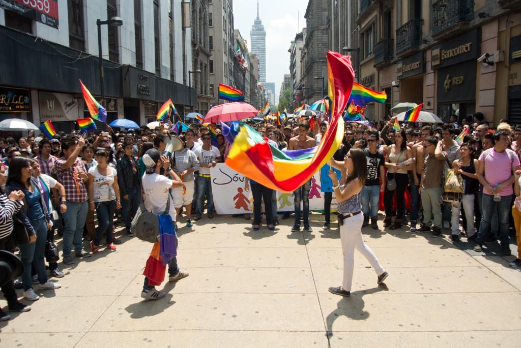 Día Internacional del Orgullo LGTB. Centro Histórico, Ciudad de México