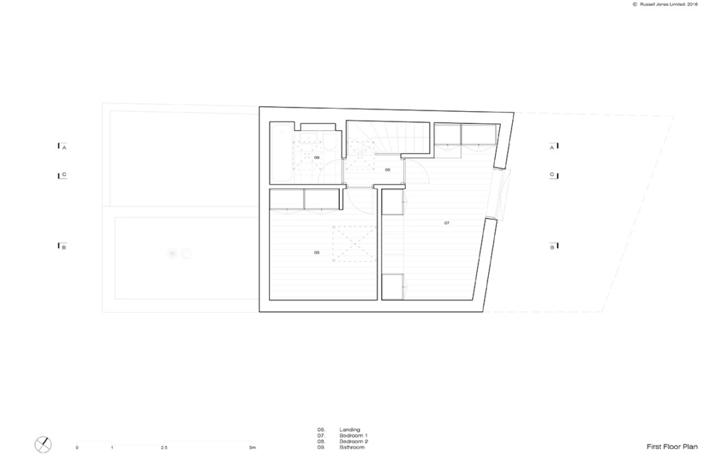 Mews House_Russell Jones_03 First Floor Plan