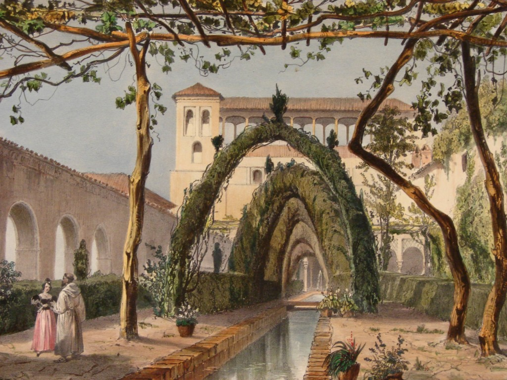 1012-ILL._Alhambra_Jardin