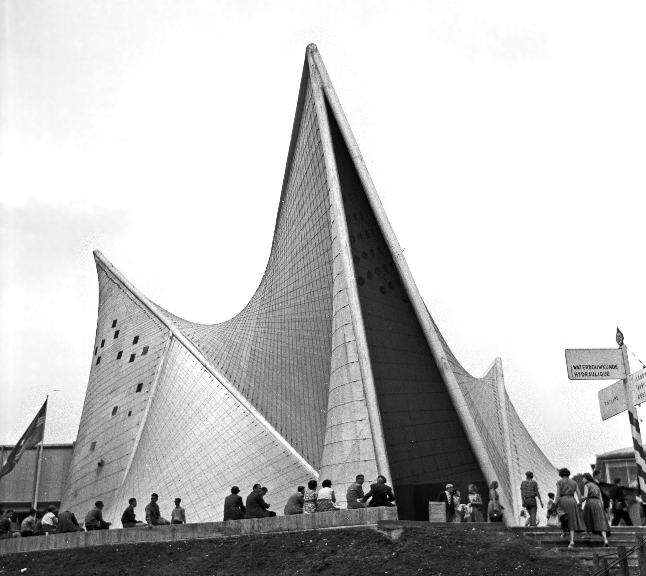 Expo 1958 paviljoen van Philips