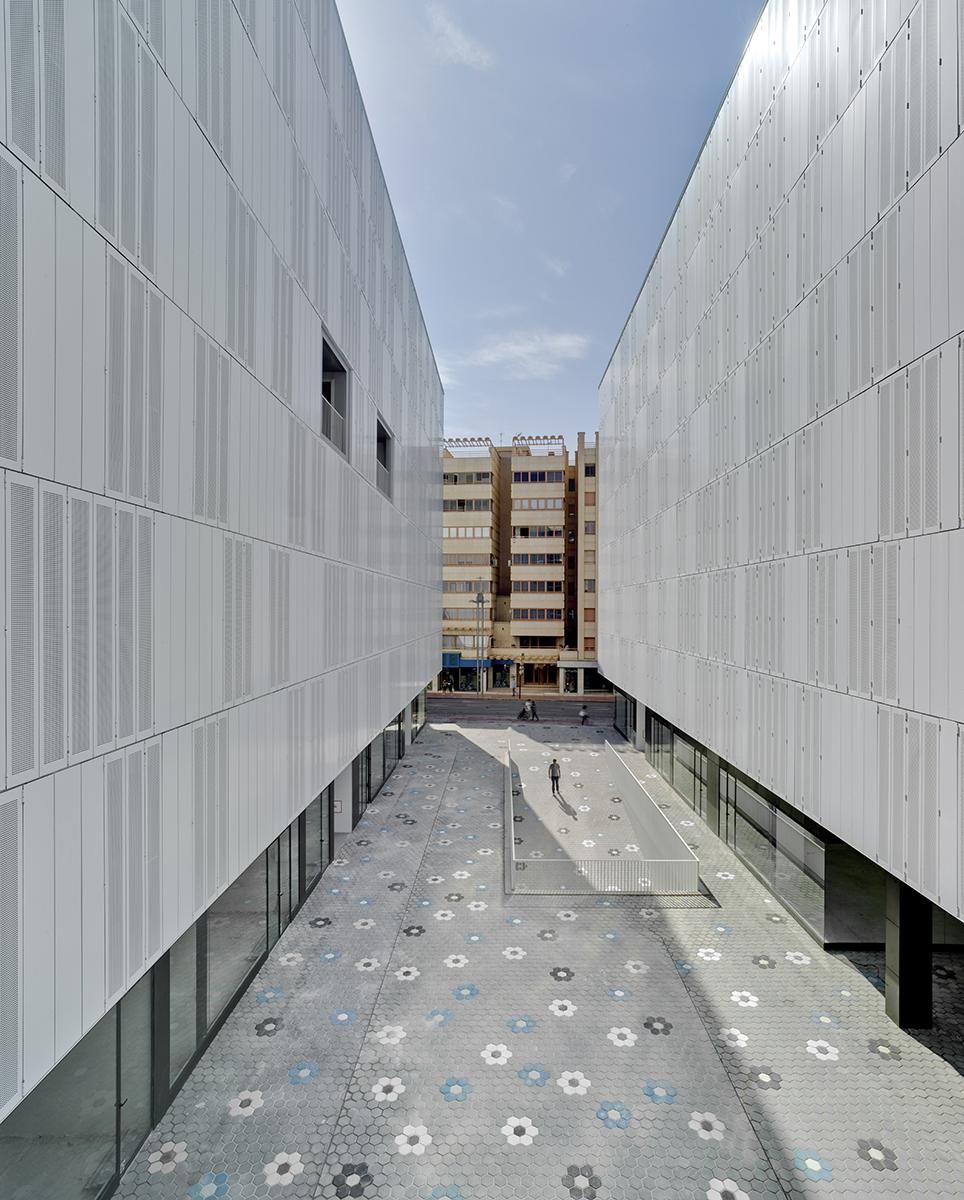 Edificio de viviendas San Meteo en Lorca.