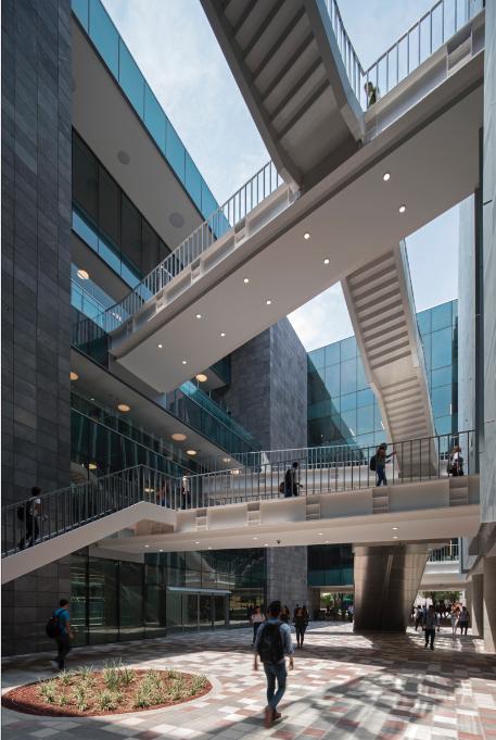 La nueva biblioteca del tecnol gico de monterrey for Biblioteca debajo de la escalera