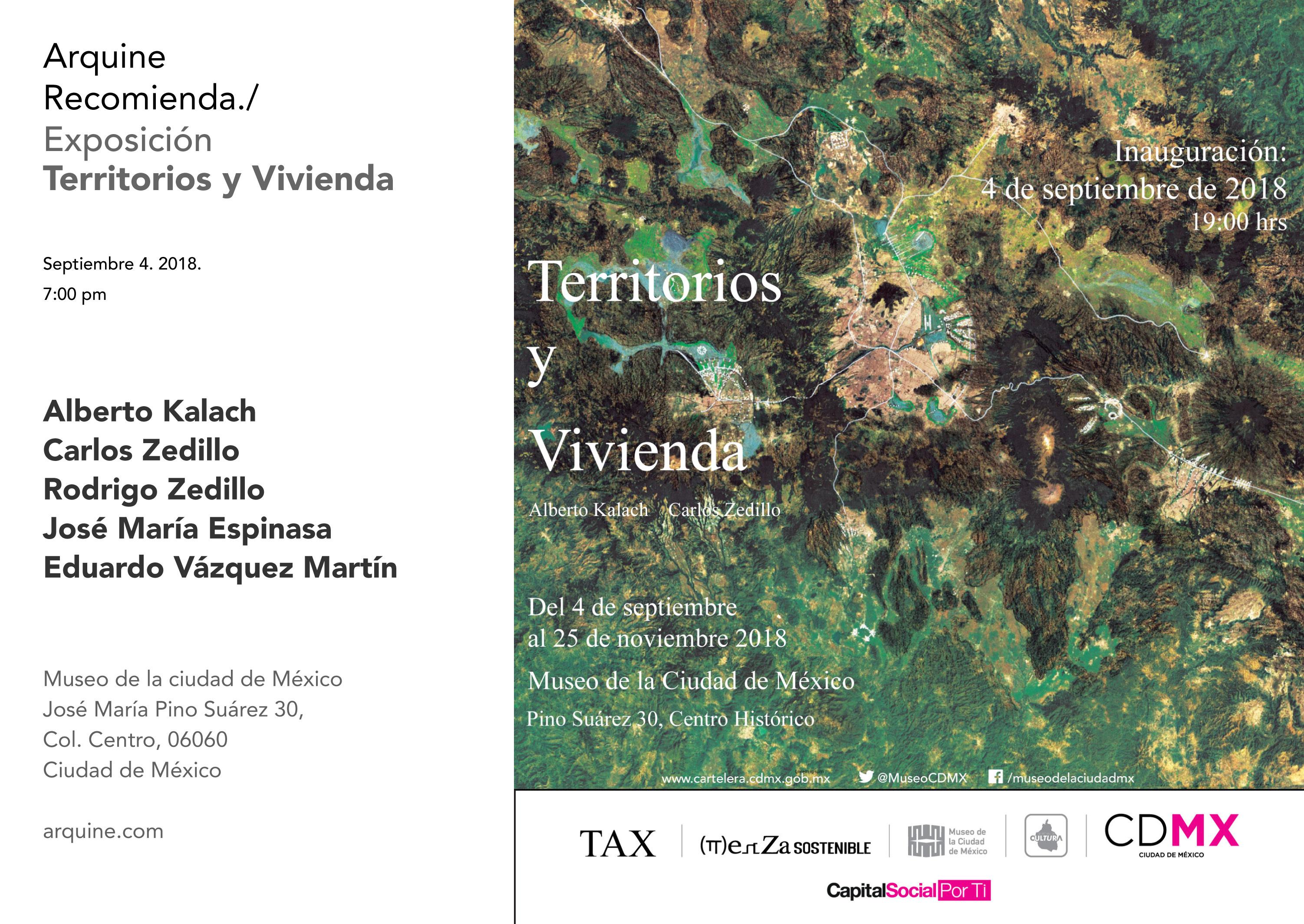 Exposición: Territorios y Vivienda @ Museo de la Ciudad de México   Ciudad de México   Ciudad de México   México
