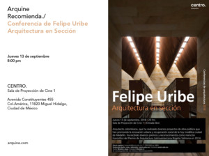 Conferencia Felipe Uribe @ CENTRO   Ciudad de México   Ciudad de México   México