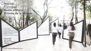 Sesiones efímeras: El límite de lo efímero